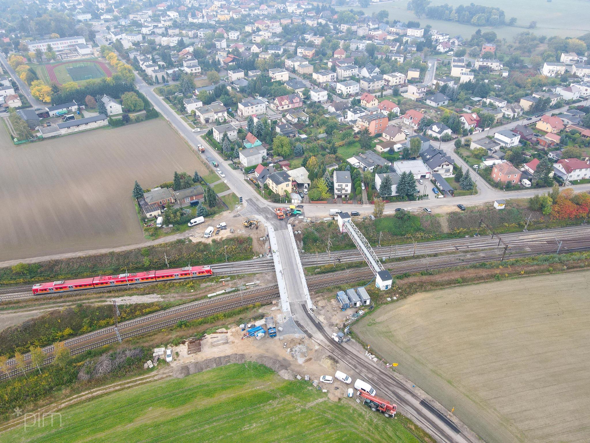 wiadukt gołężycka ulica golezycka otwarta wiadukt nad torami starołęka minikowo